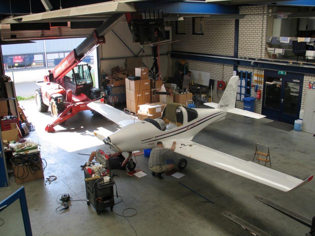 RangeR in hangar