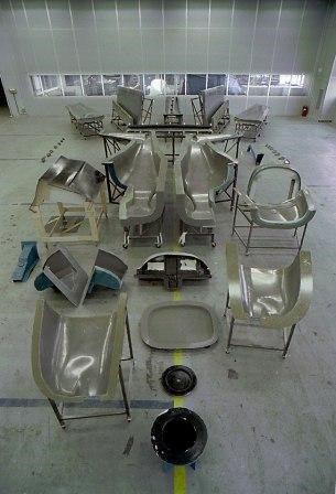 The production moulds