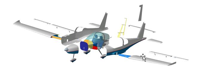 opbouw vliegtuig